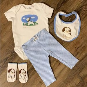Gymboree The Poky Little Puppy Outfit